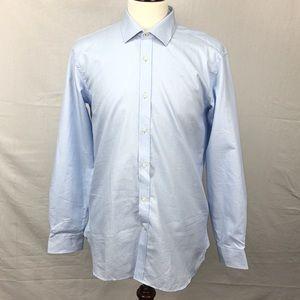 Ted Baker Brasser Trim Fit Solid Dress Shirt